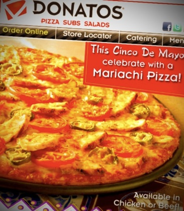 Donatos Cinco De Mayo
